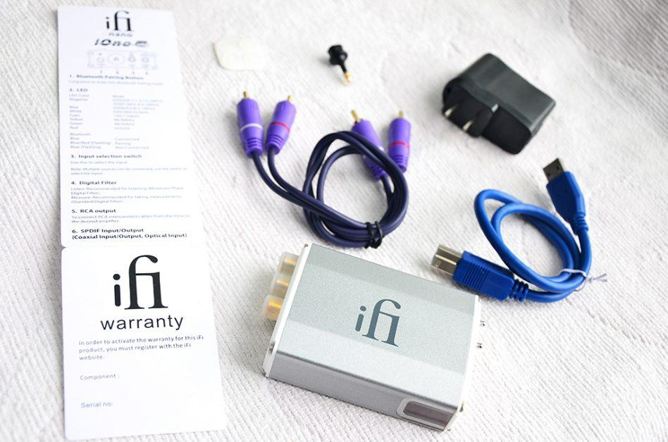 If you are looking for the DAC to support music in Hi-Res, then the iOne from iFi is sure to impress you.