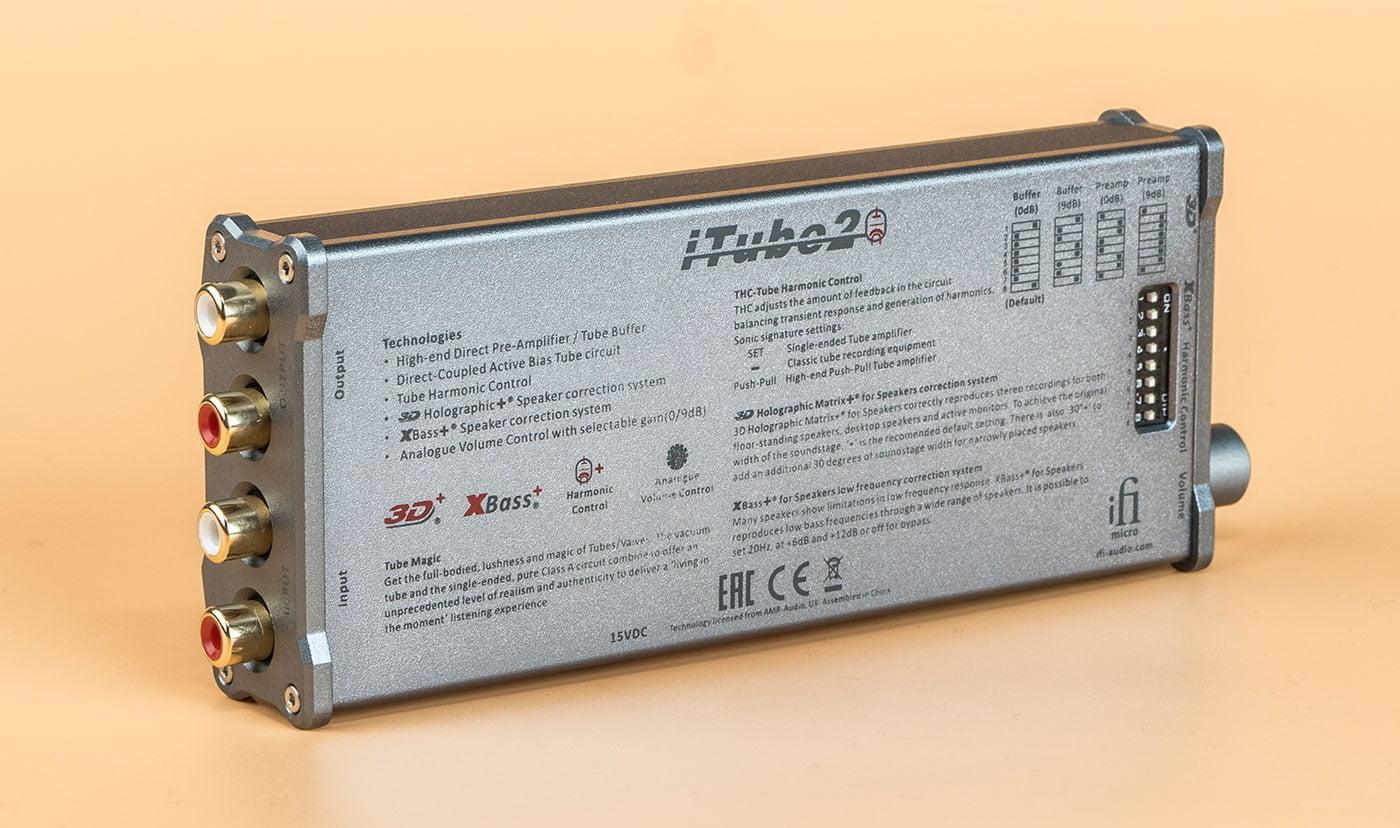 micro iTube2 by iFi audio   Vacuum Tube Buffer and Line