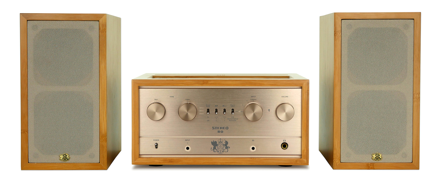 Retro Stereo 50 By Ifi Audio Integrated Tube Amplifier With Bluetooth Basics A Modern System Has Two