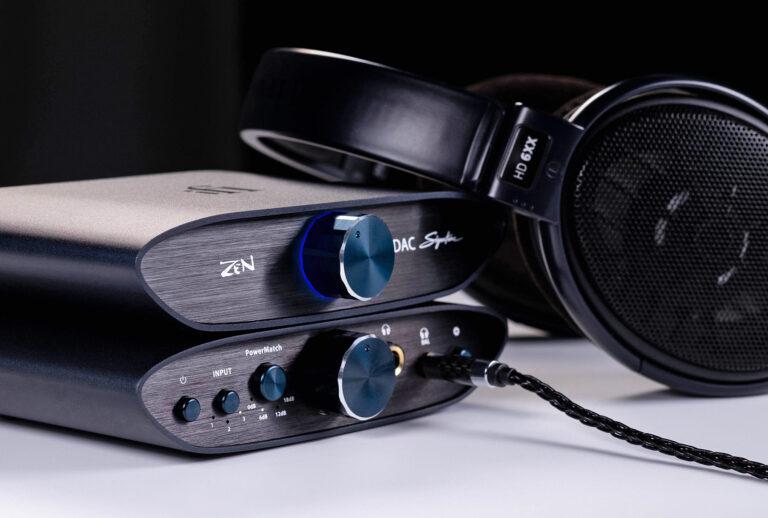 ZEN DAC Signature and ZEN CAN Signature 6XX from iFi audio