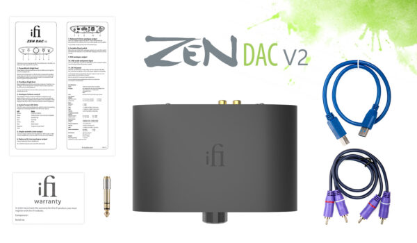 ZEN DAC V2 — DAC/headphone amplifier